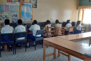 The Water Project: Matende Girls High School -  Computer Lab