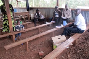 The Water Project: Kapchemoywo Girls Secondary School -  Support Staff In Dining Hall