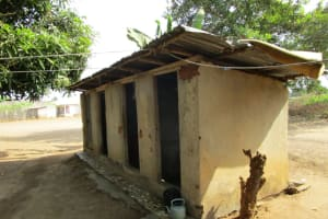 The Water Project: Victory Evangelical Church -  Latrine