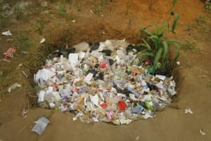 The Water Project: Word of Life Bilingual School -  Garbage Pit