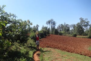 The Water Project: Lutari Community -  On The Way To Protus Spring
