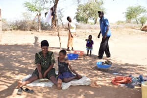 The Water Project: Maluvyu Community A -  Household
