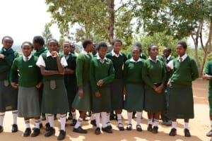 The Water Project: Muthei Secondary School -  Students
