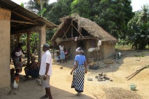 The Water Project: Rogbere Community -  Community Members