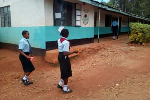 The Water Project: Friends Secondary School Shamakhokho -  Went To Fetch Cups Of Water