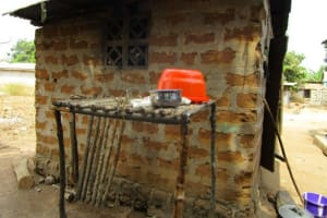 The Water Project: Malokoh Community, #4 Mabesseneh Road -  Dish Rack