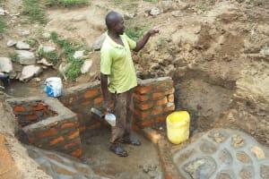 The Water Project: Shitungu Community, Suleiman Spring -  Artisan Elphas