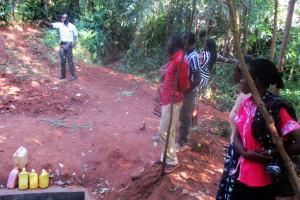 The Water Project: Emabungo Community, Bondeni Spring -  Training