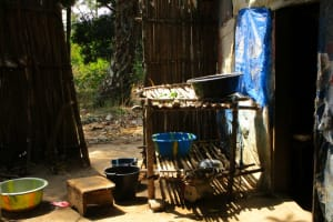 The Water Project: Rogbere Community -  Dish Rack
