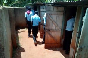 The Water Project: Friends Secondary School Shamakhokho -  Boys Latrines
