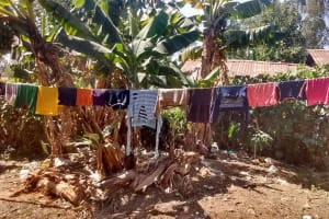 The Water Project: Shitoto Community, Abraham Spring -  Clothesline