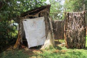The Water Project: Mahanga Community -  Latrine