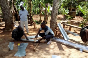 The Water Project: Shipala Primary School -  Guttering
