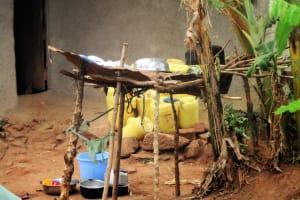 The Water Project: Mutambi Community, Kivumbi Spring -  Dish Rack