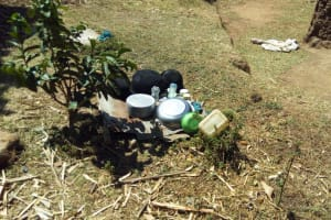The Water Project: Shitaho Community, Mwikholo Spring -  Dishes
