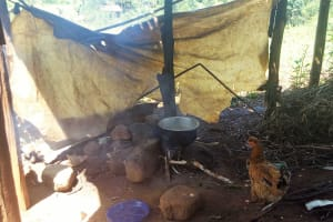 The Water Project: Shitaho Community B, Isaac Spring -  Kitchen