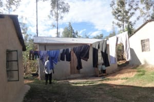 The Water Project: Lutari Community -  Clothesline