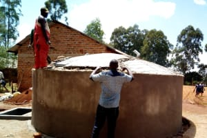 The Water Project: Shipala Primary School -  Dome Construction