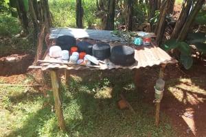 The Water Project: Shitaho Community B, Isaac Spring -  Dish Rack