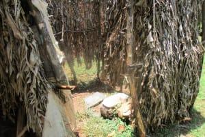 The Water Project: Mahanga Community -  Bathing Room