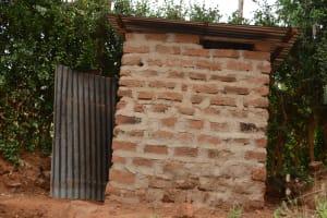 The Water Project: Mbindi Community C -  Latrine