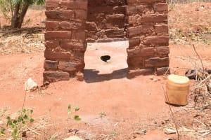 The Water Project: Waita Community A -  Latrine