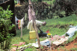 The Water Project: Mahanga Community -  Washing Clothes