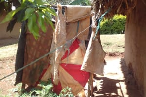 The Water Project: Wanzuma Community, Wanzuma Spring -  Bathing Room