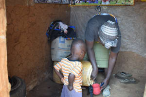 The Water Project: Waita Community A -  Household