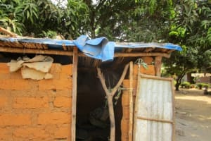 The Water Project: Malokoh Community, #4 Mabesseneh Road -  Latrine