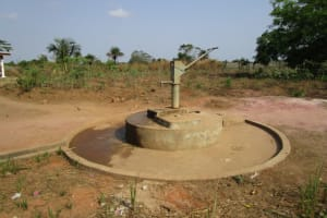 The Water Project: Sumbuya Community, Quarry Road -  Partly Functional Hand Dug Well