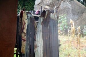 The Water Project: Mutambi Community, Kivumbi Spring -  Bathing Room