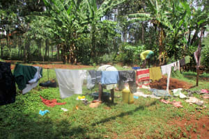 The Water Project: Mahanga Community -  Washing