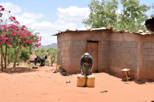 The Water Project: Waita Community A -  Water Containers