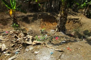 The Water Project: Rogbere Community -  Garbage Pit