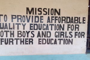 The Water Project: Friends Secondary School Shamakhokho -  School Signs