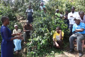 The Water Project: Shitungu Community, Suleiman Spring -  Training