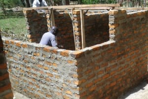 The Water Project: Ikonyero Secondary School -  Construction