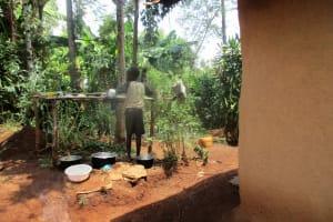 The Water Project: Mahanga Community -  Dish Rack