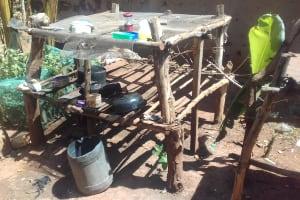 The Water Project: Wanzuma Community, Wanzuma Spring -  Dish Rack
