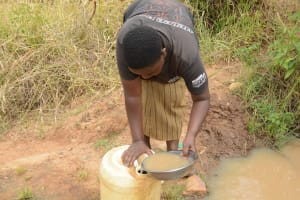 The Water Project: Mbindi Community C -  Another Dirty Water Source