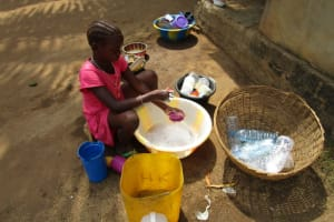 The Water Project: Victory Evangelical Church -  Domestic Work