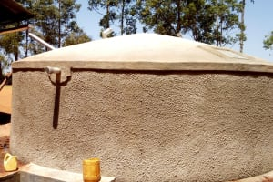 The Water Project: Shipala Primary School -  Finished Tank