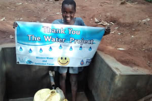 The Water Project: Emabungo Community, Bondeni Spring -  Protected Spring