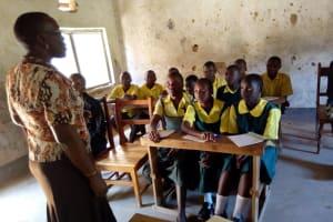 The Water Project: Mahanga Primary School -  Training