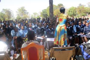 The Water Project: Ikonyero Secondary School -  Training