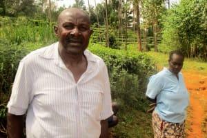 The Water Project: Mutambi Community, Kivumbi Spring -  Mr Kivumbi