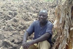 The Water Project: Eshiakhulo Community, Omar Sakwa Spring -  Mr Sakwa