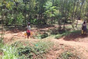The Water Project: Wanzuma Community, Wanzuma Spring -  Heading To The Spring
