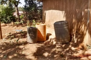 The Water Project: Shitoto Community, Abraham Spring -  Water Storage